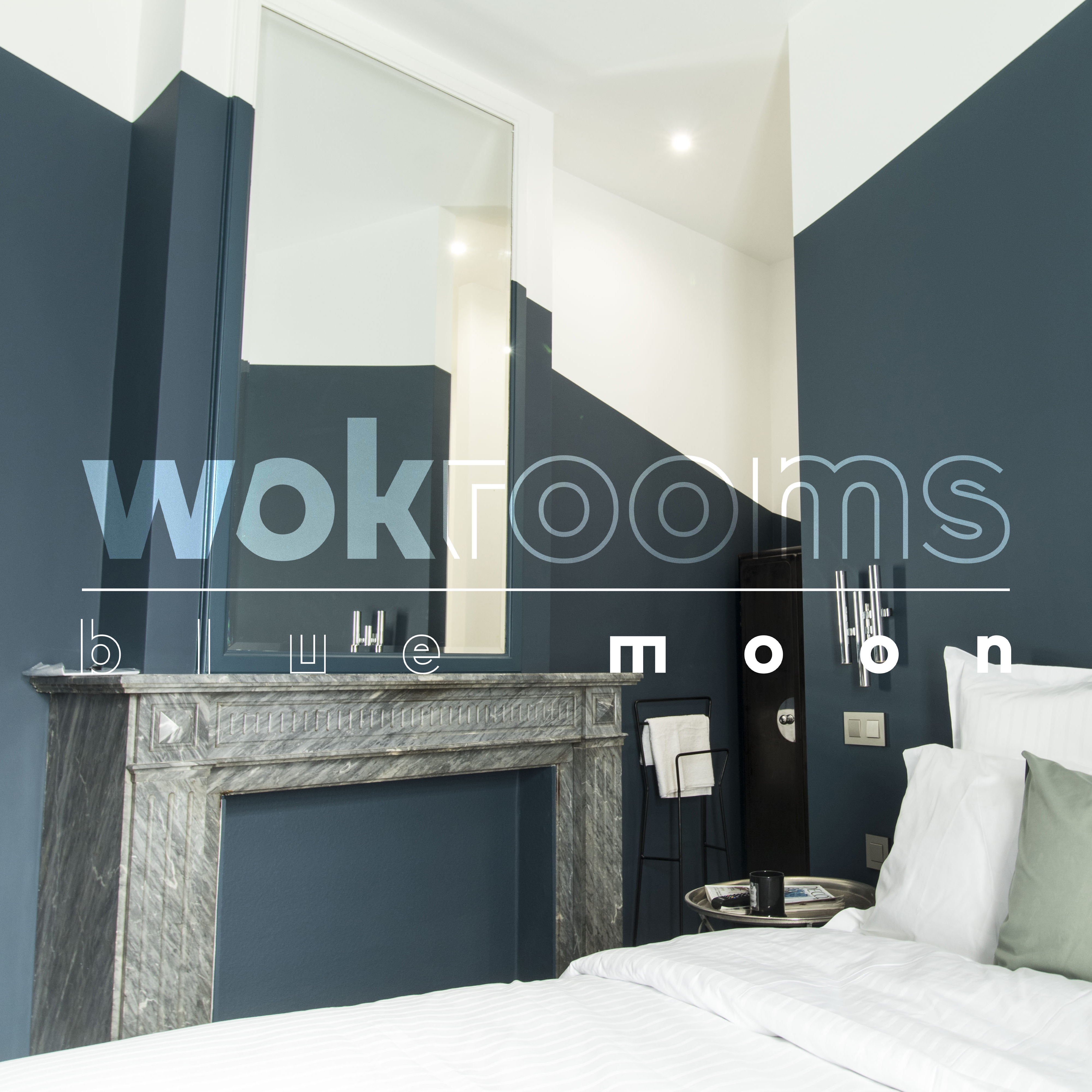 bed and breakfast wok rooms brussels blue moon